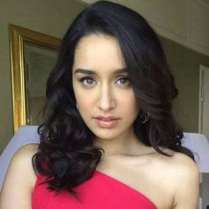 Shraddha Kapoor Images Wallpaper With red Color Dress