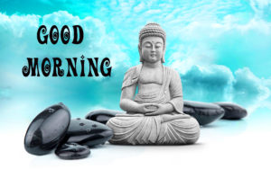 Buddha Good Morning Images Wallpaper for Whatsapp