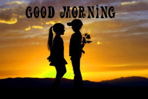 Romantic Lover Good Morning Images  Photo Pics Download