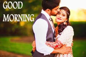 Good Morning Images for Romantic Love Couple Wallpaper Free Download