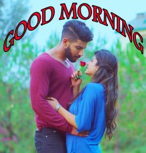 Good Morning Images for Romantic Love Couple Photo Download