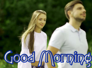 Romantic Couple Good Morning Images Wallpaper PIC