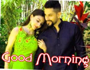 Romantic Couple Good Morning Images Pics for Whatsapp