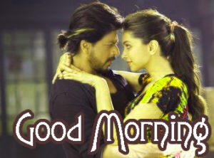 Romantic Couple Good Morning Images Wallpaper for Facebook