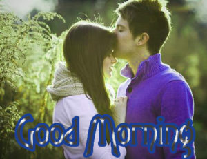 Romantic Couple Good Morning Images Photo Pic Free