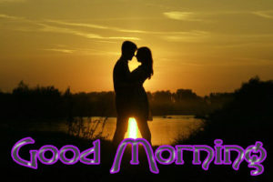 Romantic Couple Good Morning Images Pics Download