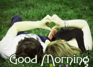 Romantic Couple Good Morning Images Photo Wallpaper Download
