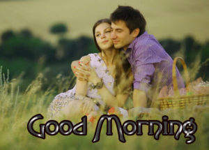 Romantic Couple Good Morning Images Photo For Whatsapp